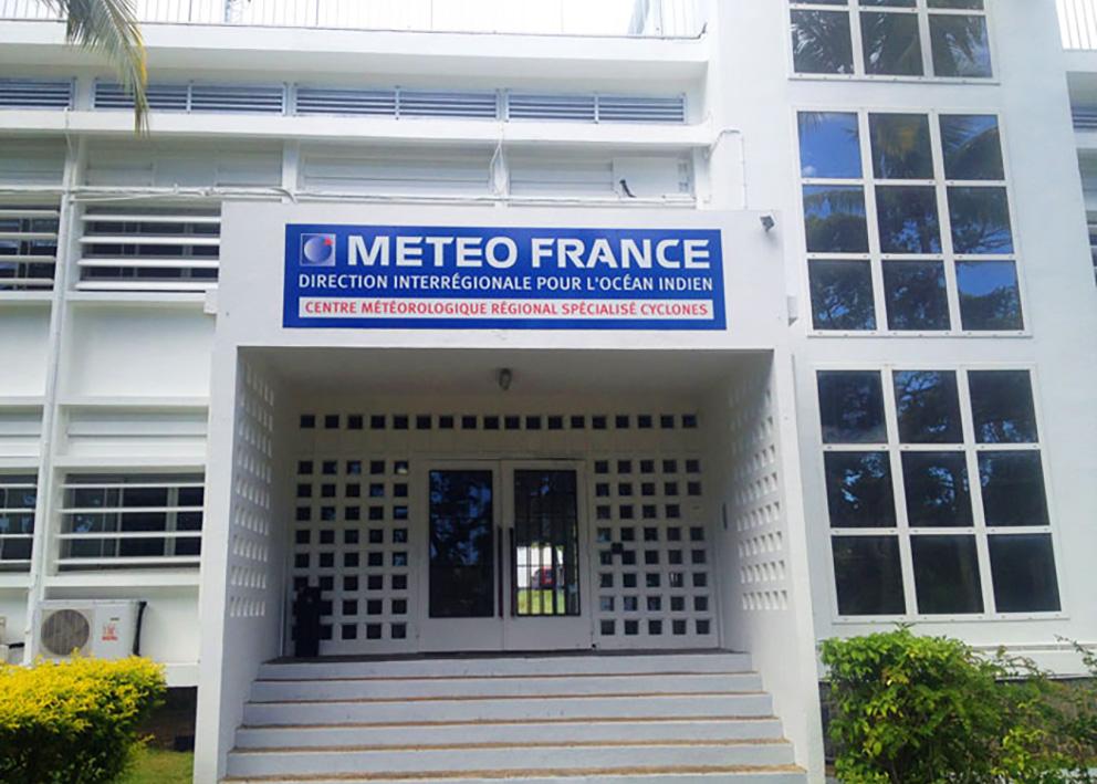 Support de communication Enseigne en dibond Météo France
