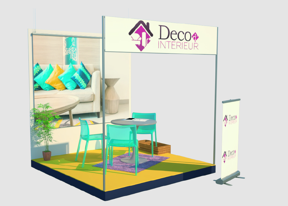 Stand 3m2