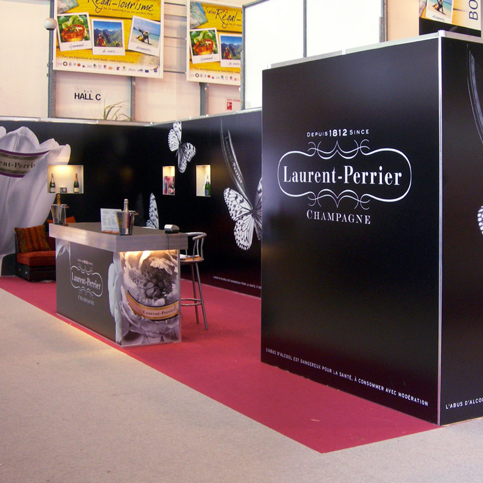 Stand laurent perrier