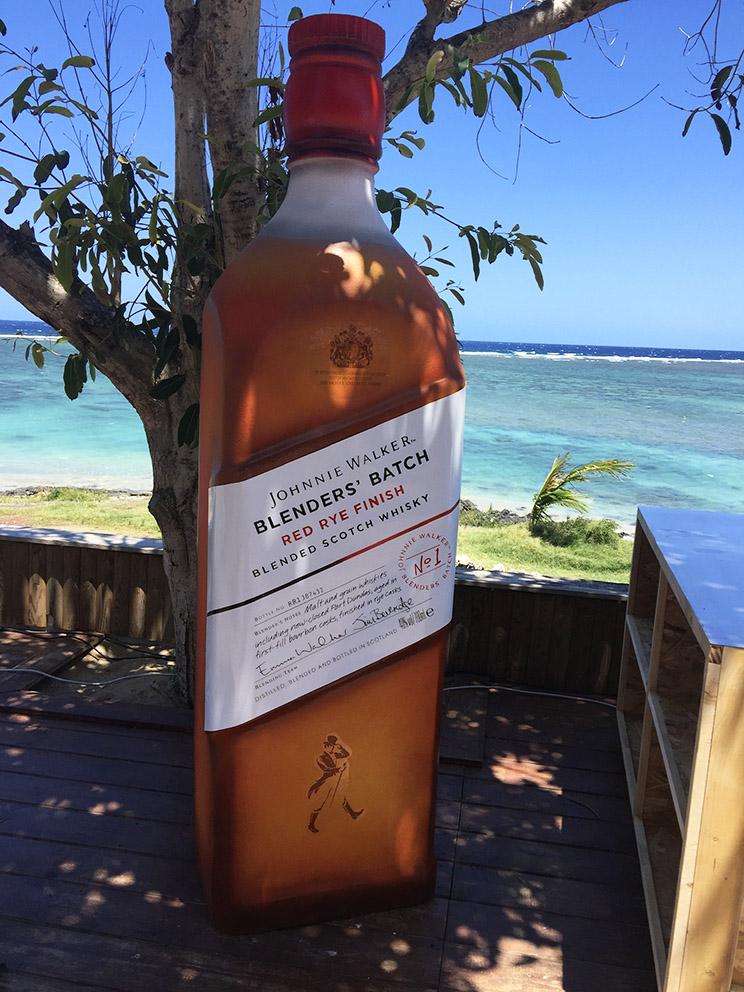 JW bouteille en volume 3D