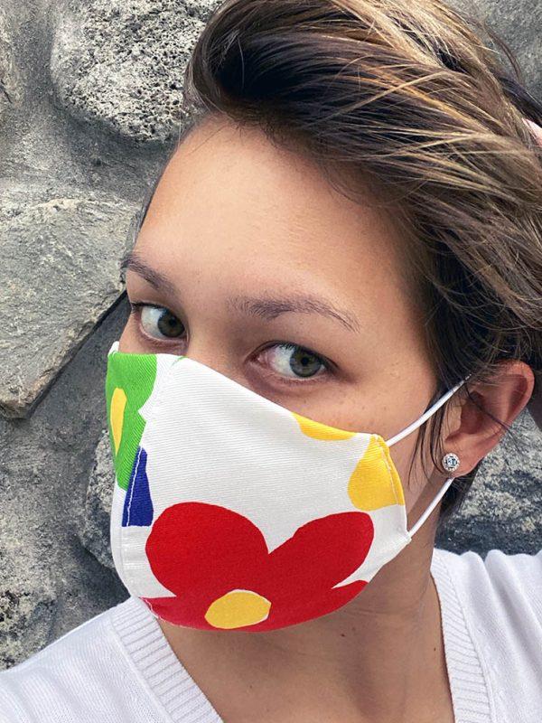 masque a fleur